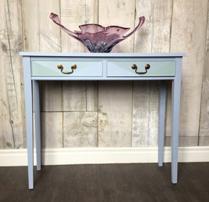 Louis blue console table