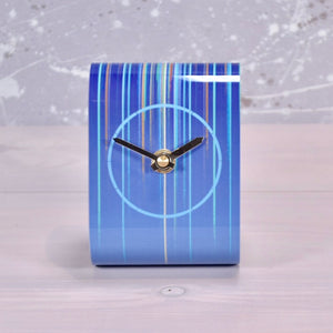 Pixalum desk clock - Flare blue