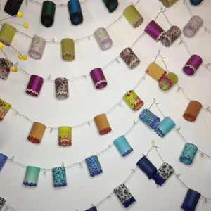 Half day Workshop - Make a string of fairy light mini lampshades