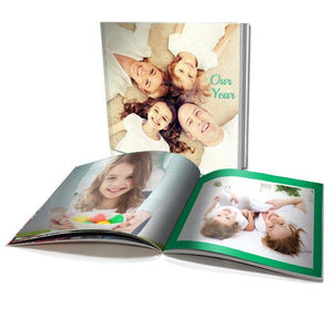 "8 x 8"" Personalised Soft Cover Photo Book"
