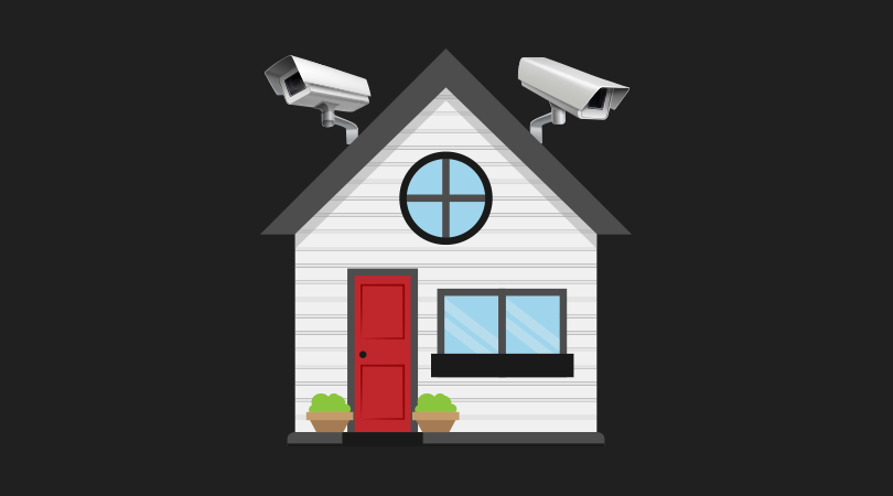 Simple home security camera