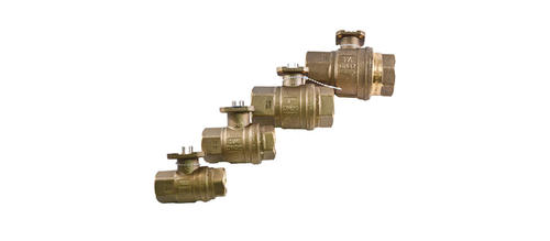 Fortrezz Automation Brass Ball Valve 1.25''