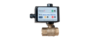 Fortrezz Automated Water Shut-off Valve (Indoor) 1 1/4'', Z-Wave 300 Series