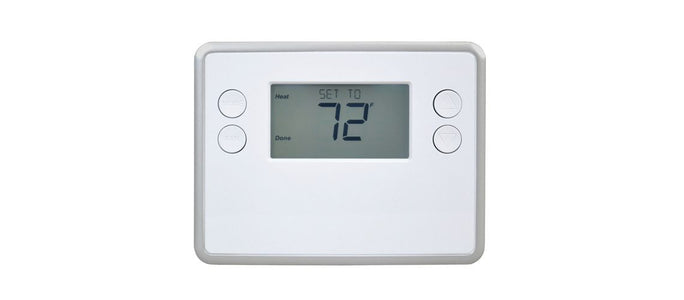 GoControl Battery-Powered Thermostat, Z-Wave Plus