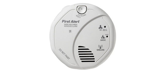 First Alert 2-in-1 Smoke Detector & Carbon Monoxide Alarm