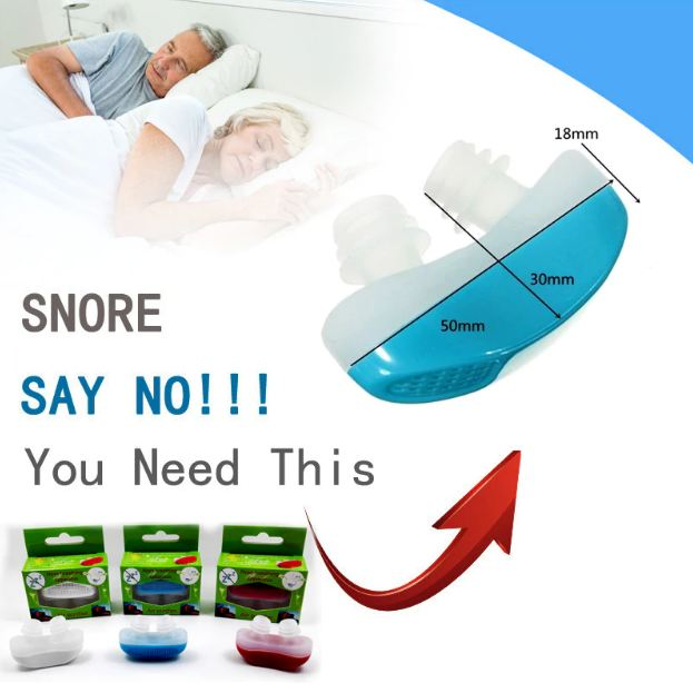 Nose Snore Stopping Breathing Apparatus Guard Sleeping Device Anti Snore Silicone Generation