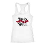 """Bless The Lord..."" Women's Racerback Tank"