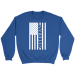 """Veteran"" (Long Sleeve Unisex Sweatshirt)"