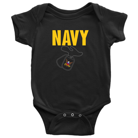 US NAVY Baby Bodysuit