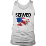 SERVED - AIR FORCE MARINES Men's Tank Top