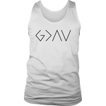 God Is Greater... Men's Tank Top