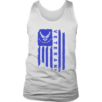 Air Force Veteran (Blue) Men's Tank Top
