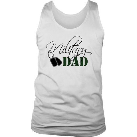 Military Dad Men's Tank Top