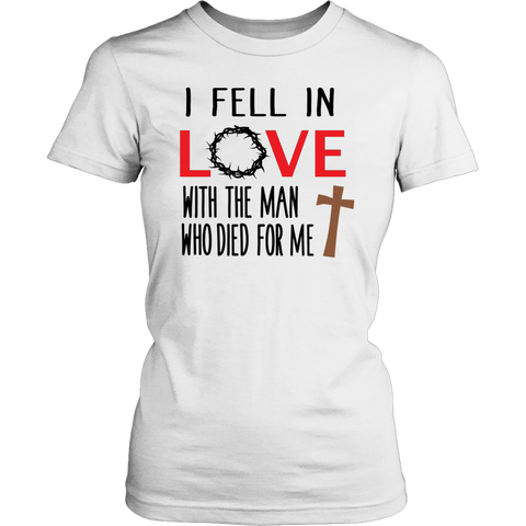 """I Fell In Love..."" Women's T-Shirt"
