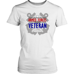 """Armed Forces Veteran - Coast Guard"" Women's Short Sleeve T-shirt"
