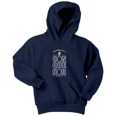 I Am More Than A Conqueror Youth Hoodie