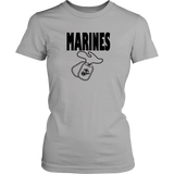 """Marines Dog Tags"" Women's short Sleeve T-shirt"