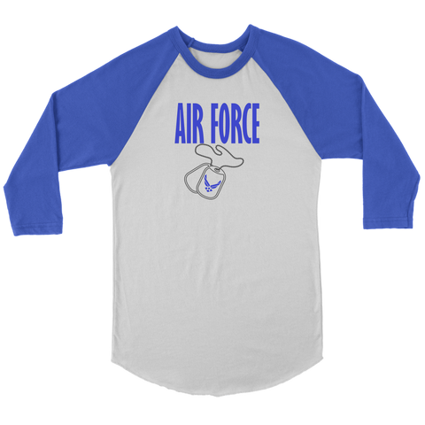 Air Force 3/4 Raglan Shirt