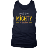 """...Mighty In The Land""  Men's Tank Top"