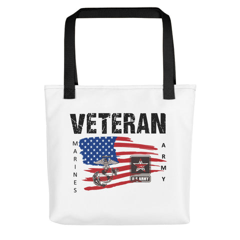 """SERVED MARINES-ARMY"" Tote bag"