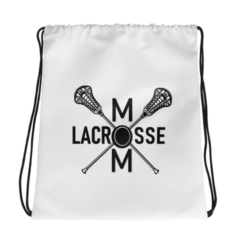Lacrosse Mom Drawstring bag