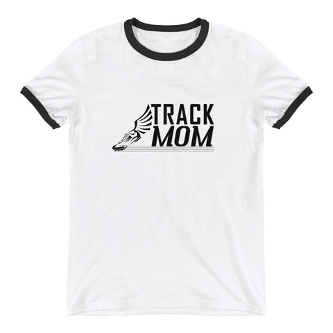 Track Mom Ringer T-Shirt