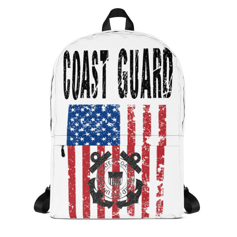COAST GUARD print Backpack