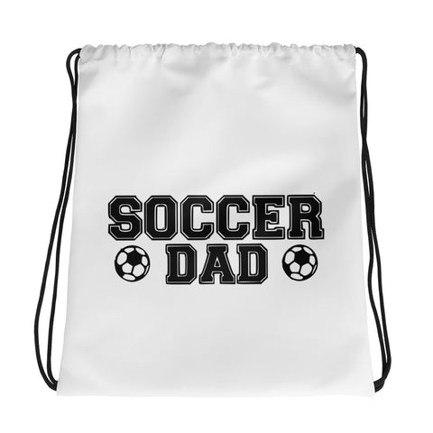 Soccer Dad Drawstring bag