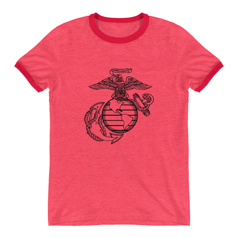 MARINES Ringer T-Shirt