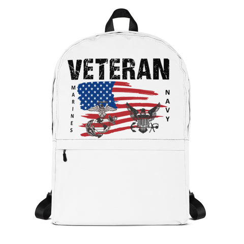 """VETERAN MARINES-NAVY"" Backpack"