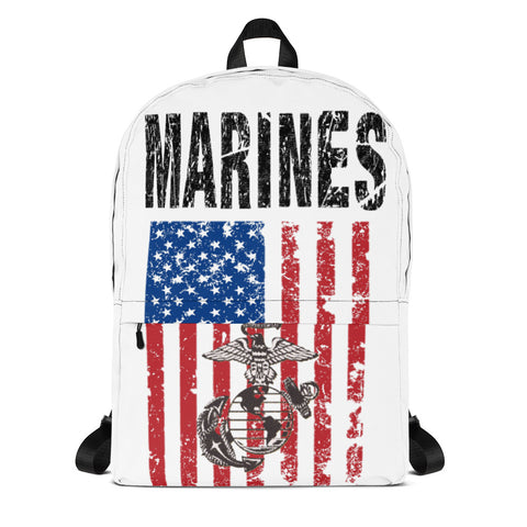 MARINES print Backpack