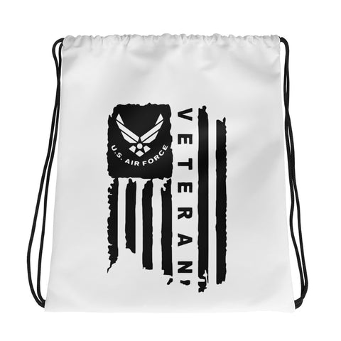 Air Force Drawstring bag
