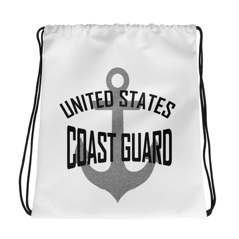 UNITED STATES COAST GUARD Drawstring bag