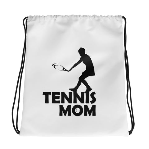 Tennis Mom Drawstring bag