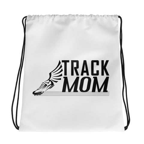 Track Mom Drawstring bag