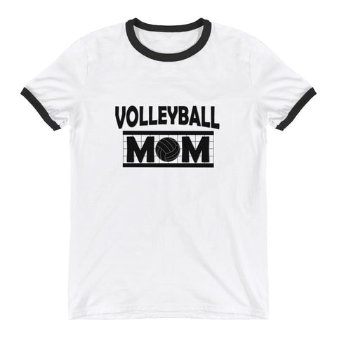 Volleyball Mom Ringer T-Shirt