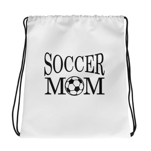 Soccer Mom Drawstring bag