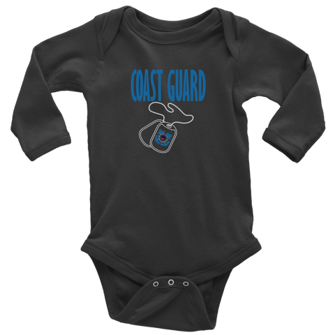 Coast Guard Long Sleeve Bodysuit