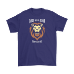 Bold As A Lion Unisex T-Shirt