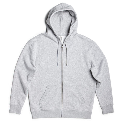 Mens Heavyweight Full Zip Hoodie