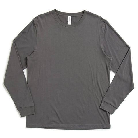Unisex Long-Sleeve Crew Neck Tee