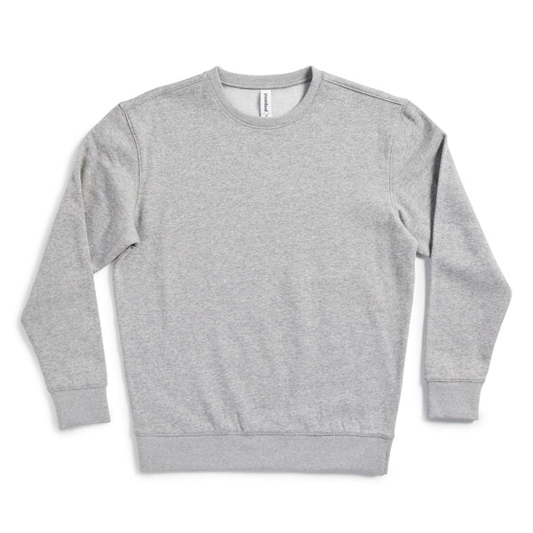 Unisex Midweight Drop Shoulder Crew Neck Sweatshirt