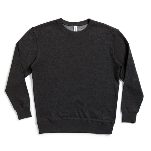 Unisex Midweight Drop Shoulder Crew Neck Sweatshirt | P2006