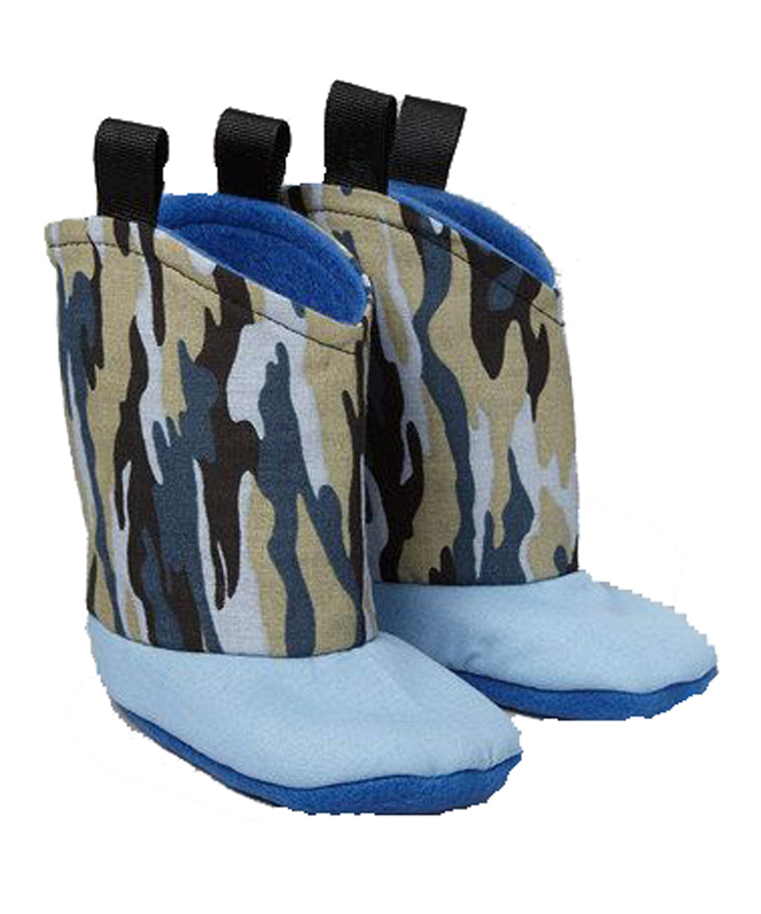 Camo Blue Boots for that little hunter in your life