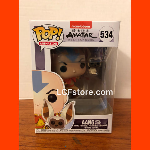 Avatar Aang with Momo Funko POP