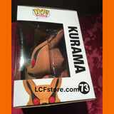 Naruto Kurama Flocked Hot Topic Exclusive Funko POP