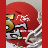 San Francisco 49ers George Kittle Signed Mini Helmet