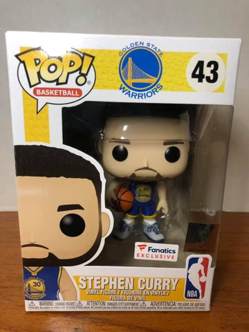 Golden State Warriors Stephen Curry Fanatic Exclusive Funko POP