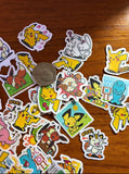 Lot of 40 Pokémon Stickers
