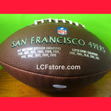 San Francisco 49ers Terrell Owens Signed Football